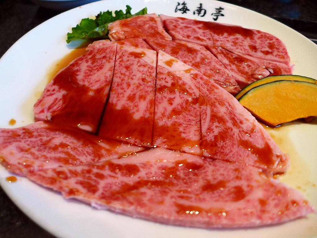 老舗の正統派高級焼肉店のお肉はやっぱり感動的に美味しいです! 緑橋 「海南亭 緑橋店」