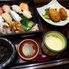 大粒のカキフライとお寿司が一緒にいただけるボリューム満点のお値打ちランチ! 梅田 「魚と上方うまいもん あんばい ハービスPLAZA店」