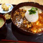赤、黒、白の3種類の麻婆豆腐を様々な食べ方で楽しめるお値打ちランチ! 淀川区西中島 「串焼きと日本酒 炭繁」