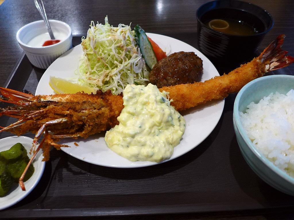 海老フライ好きにはたまりません!とても希少な巨大天然海老フライ! 堺筋本町 「AB-kitchen(エービーキッチン)」