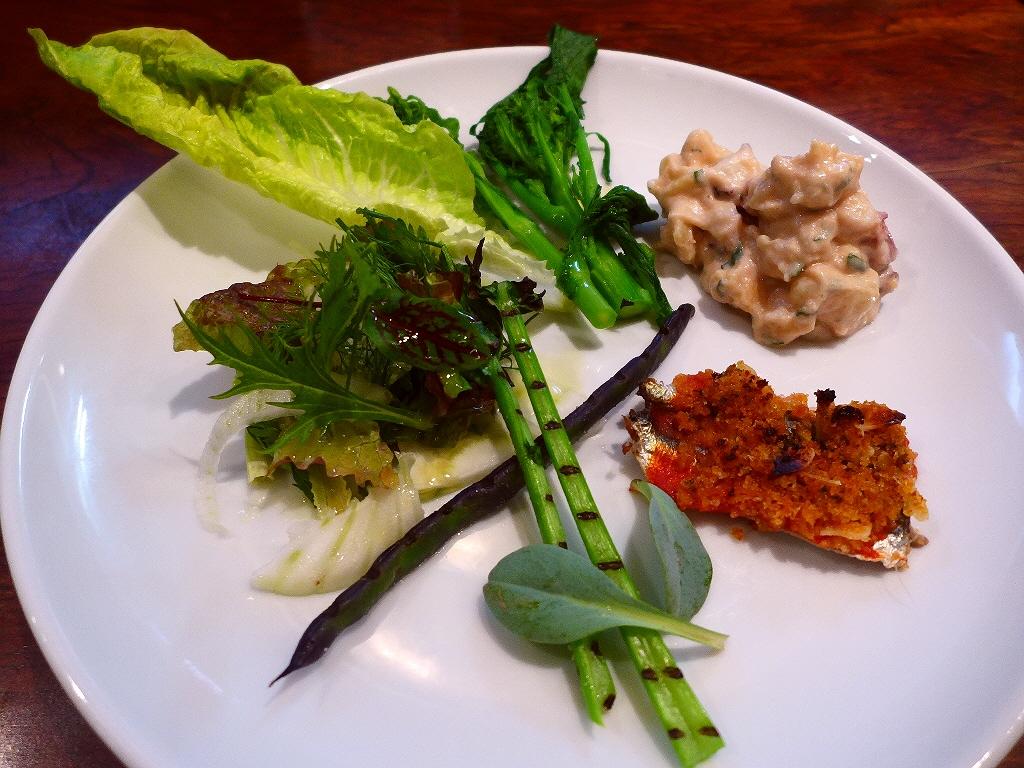 契約農家直送のイタリア野菜と鮮度抜群の魚介たっぷりの料理が楽しめる超有名イタリアン! 西区新町 「トラットリア パッパ」