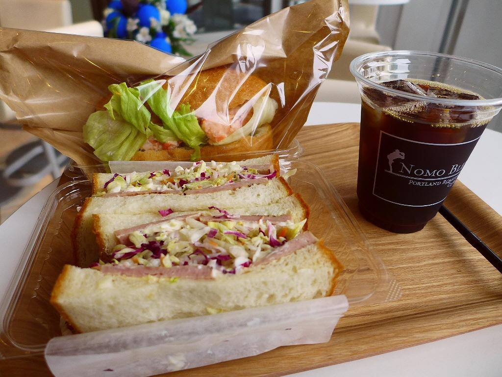 ハービスPLAZA ENTの1階に開放的で本格コーヒーとサンドイッチがいただける居心地抜群のカフェがオープンしました! 梅田 「cafe boo」