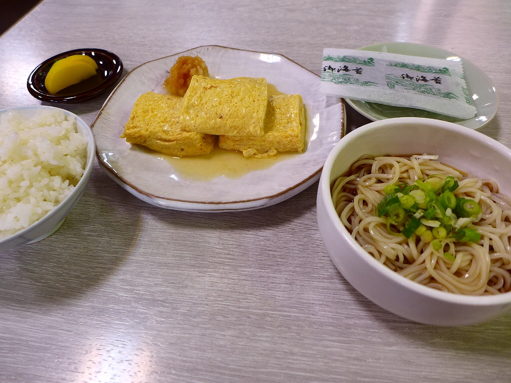 老舗のお蕎麦屋さんでびっくりするほど美味しい出汁巻きに出会いました! 恵美須町 「総本家 更科」