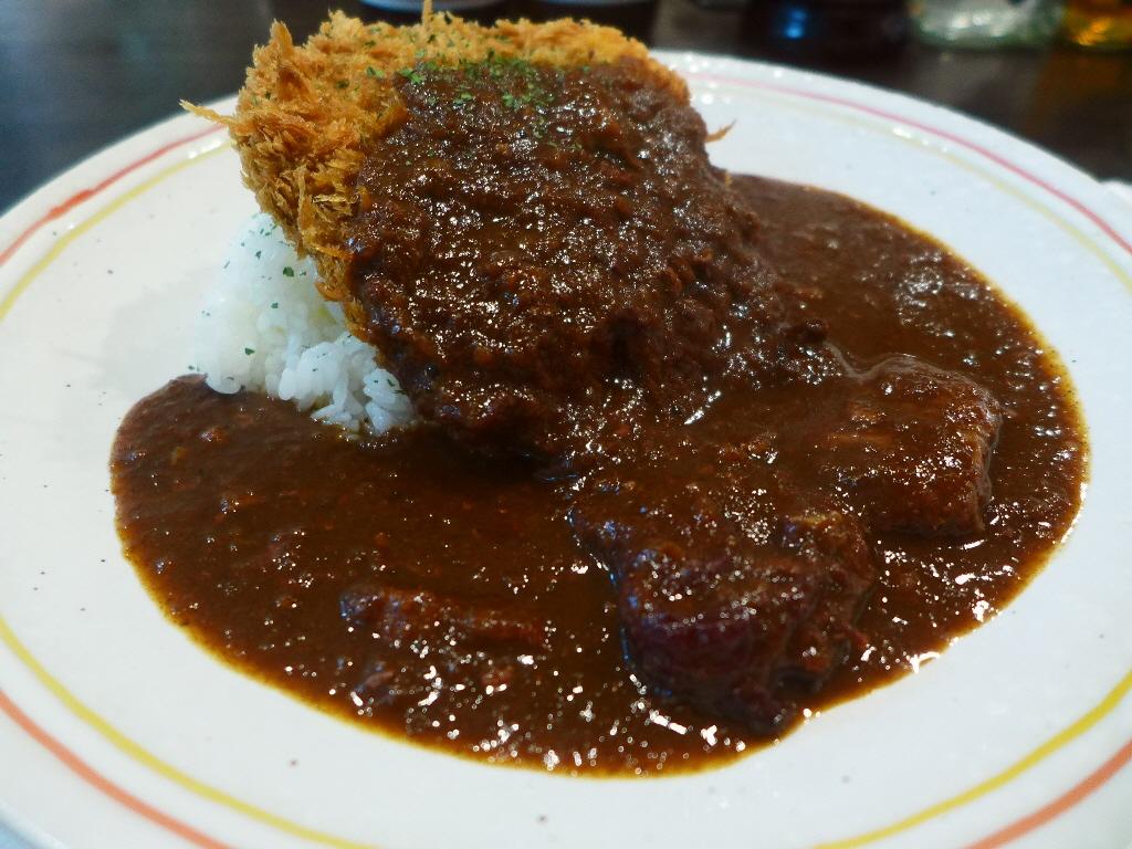 大人気洋食店の正統派欧風カレーは最高峰の味わいです! 中央区徳井町  「キートス」
