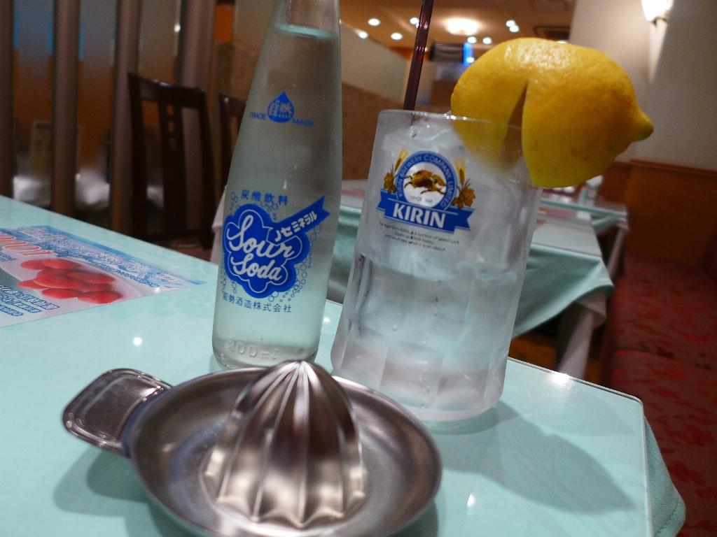 大阪サワー始めました・・・らしいのでちょっと一杯飲んできました! 心斎橋 「大成閣」