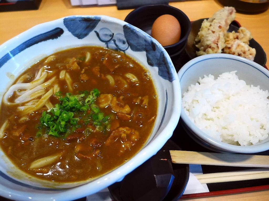 麺もお出汁も素晴らしくハイレベルな絶品カレーうどん! 東成区玉津 「うどん上々」