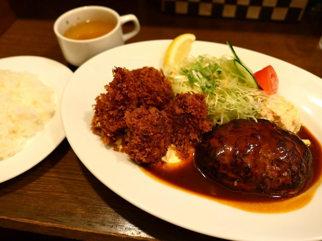 大人気洋食店でカキフライが始まりました! 大阪駅前第2ビル 「グリル北斗星」