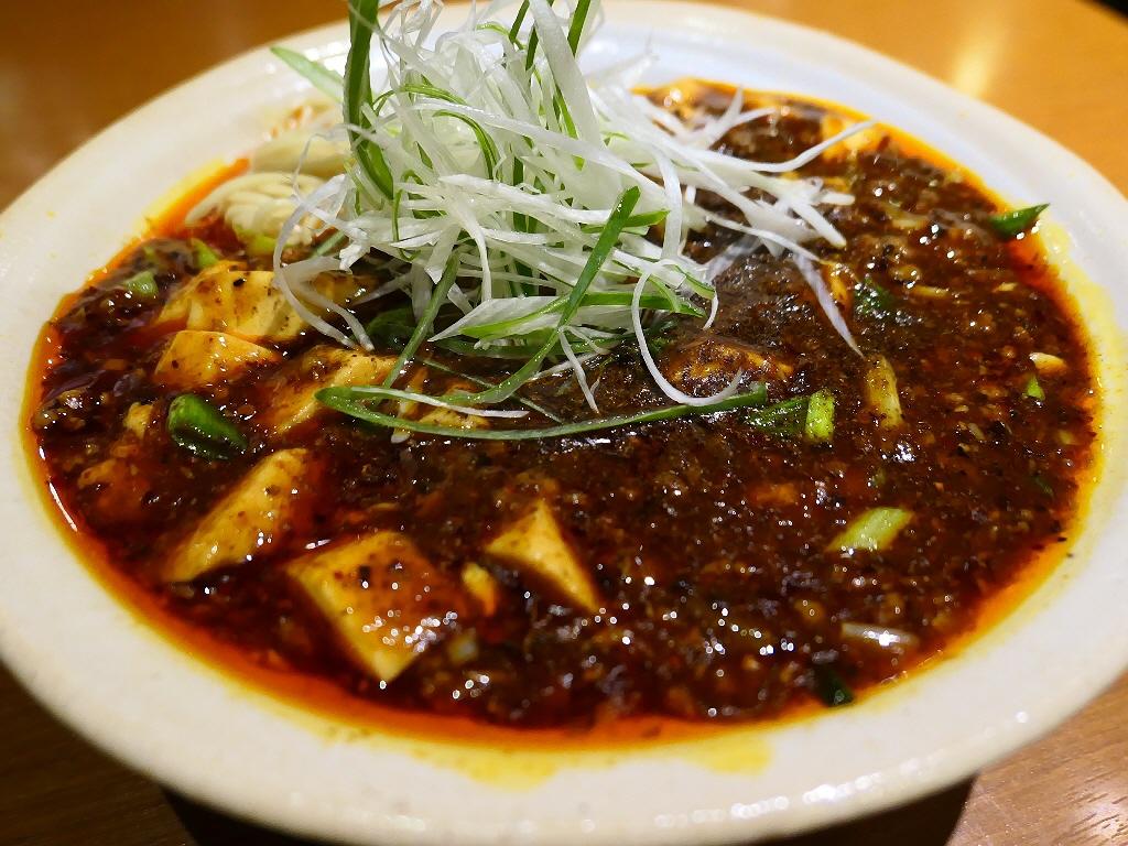 本格的な味わいの四川麻婆豆腐の麻婆麺とご飯のセットは旨すぎてボリューム満点で満足感が高すぎます! 淀川区西中島 「華Sansyou学」