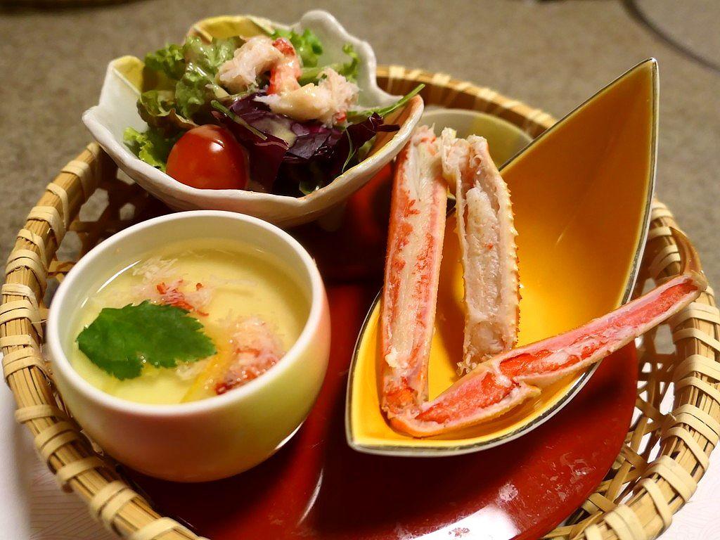 お昼から美味しいカニがお手軽な価格でいただけて使い勝手もとても良かったです! 江坂 「かに道楽 江坂店」