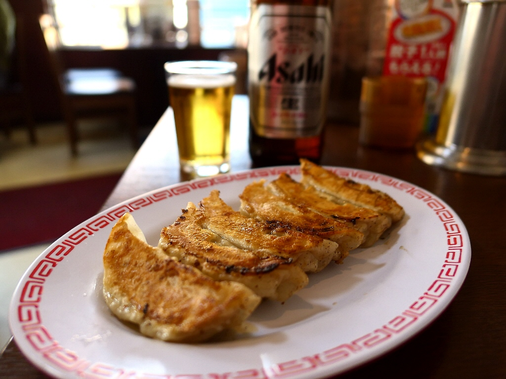 王将の『よく焼き』餃子とこってりラーメンで1年の素晴らしい締めくくりランチがいただけました! 大正区 「餃子の王将 大正店」