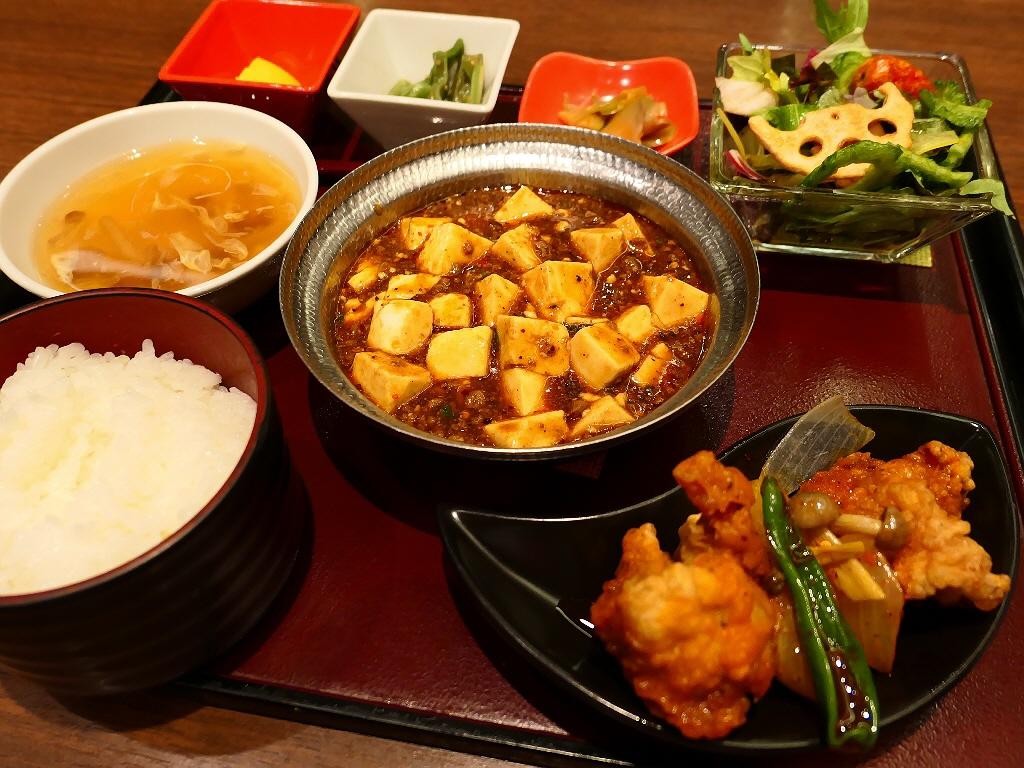 万人が美味しいと思える陳麻婆豆腐がメインのボリューム満点の四川料理ランチ! 天王寺 「四川餐館 あべのハルカスダイニング店」
