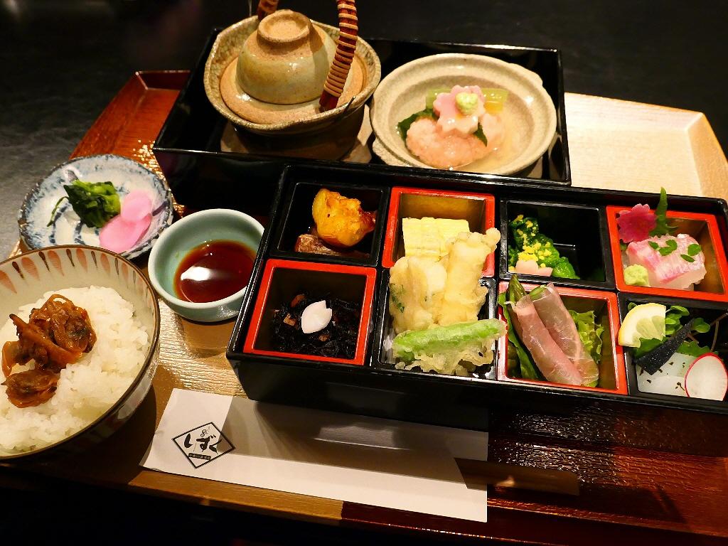 4月限定のホテルで春の風味が堪能できるお値打ちのランチ御膳! ホテルグランヴィア大阪 「なにわ食彩 しずく」