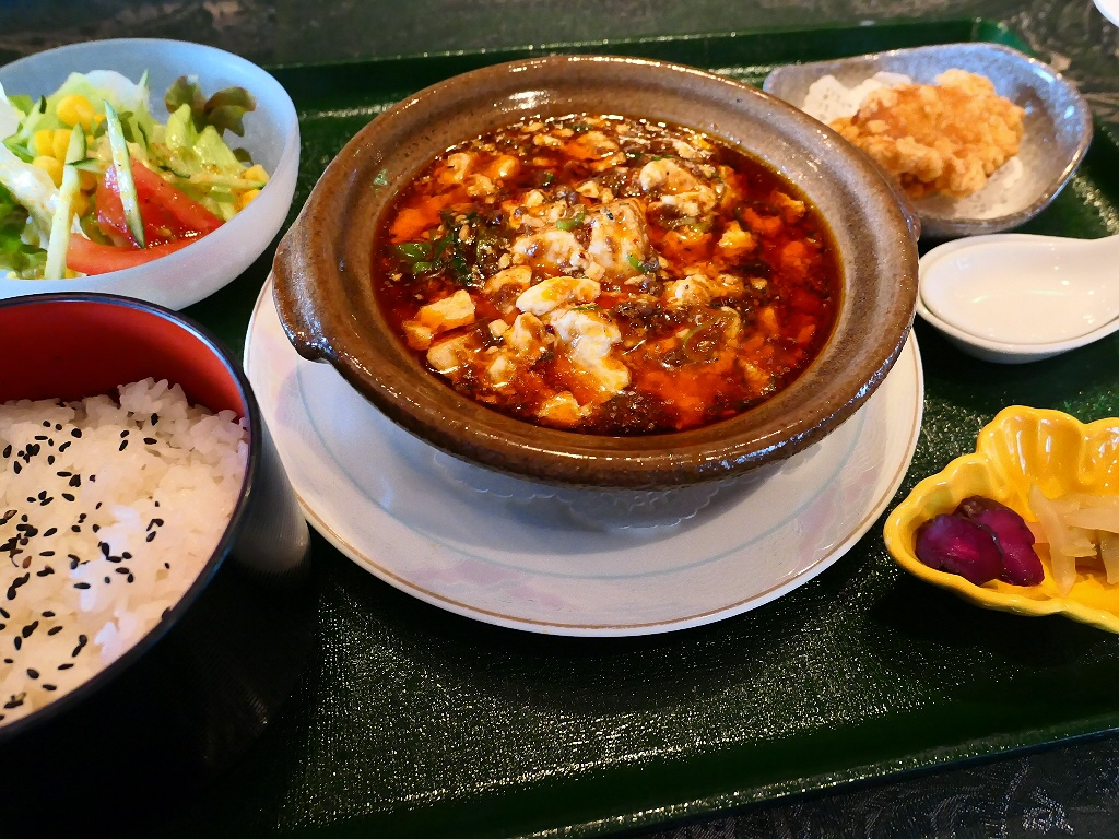 自家製XO醤を使った高級感溢れる味わいの麻婆豆腐! 梅田スカイビル 「中国料理 燦宮」