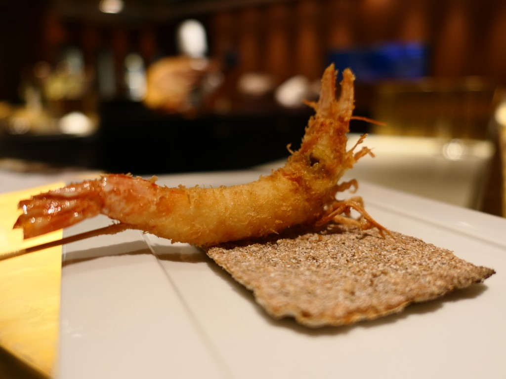 ホテルの高級串揚げ店のお昼のコースはとてもお得でお値打ちです! スイスホテル南海大阪 「SHUN(シュン)」