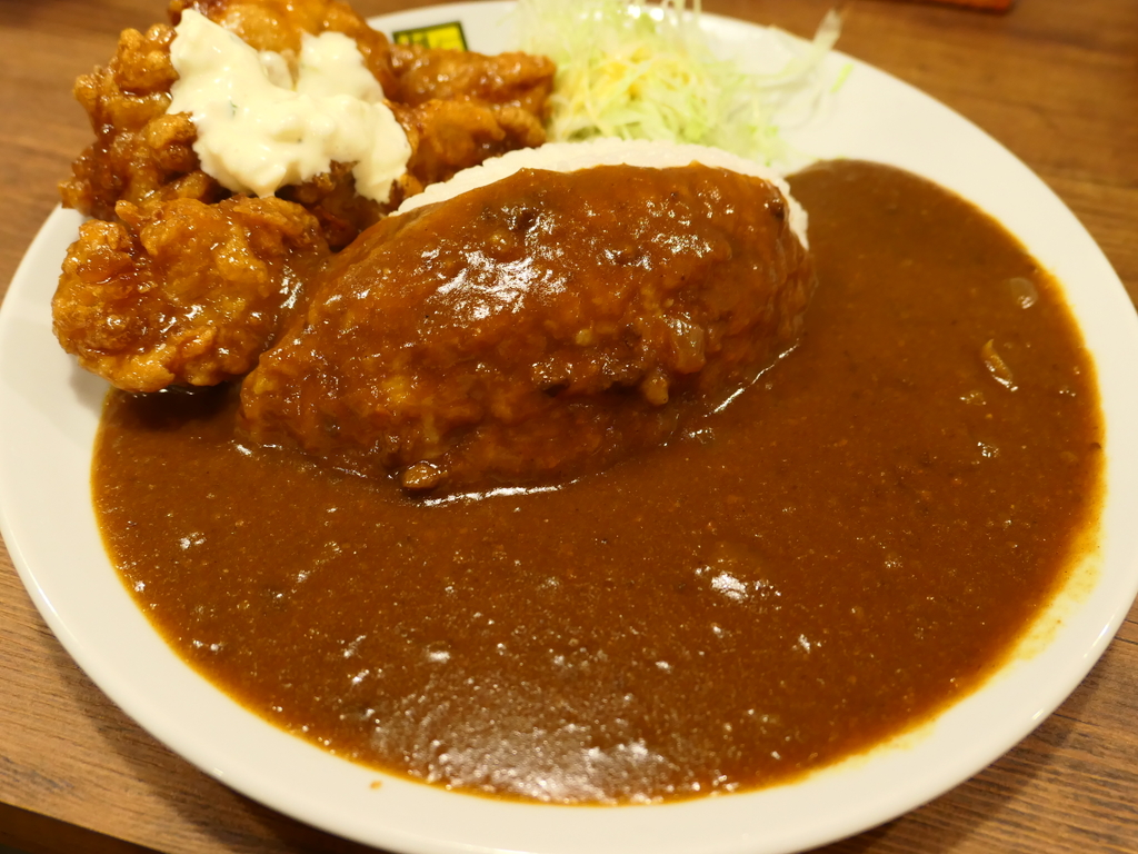 宮崎の名物カレーがなんばにオープンしました! なんば 「カレー倶楽部ルウ 難波中店」