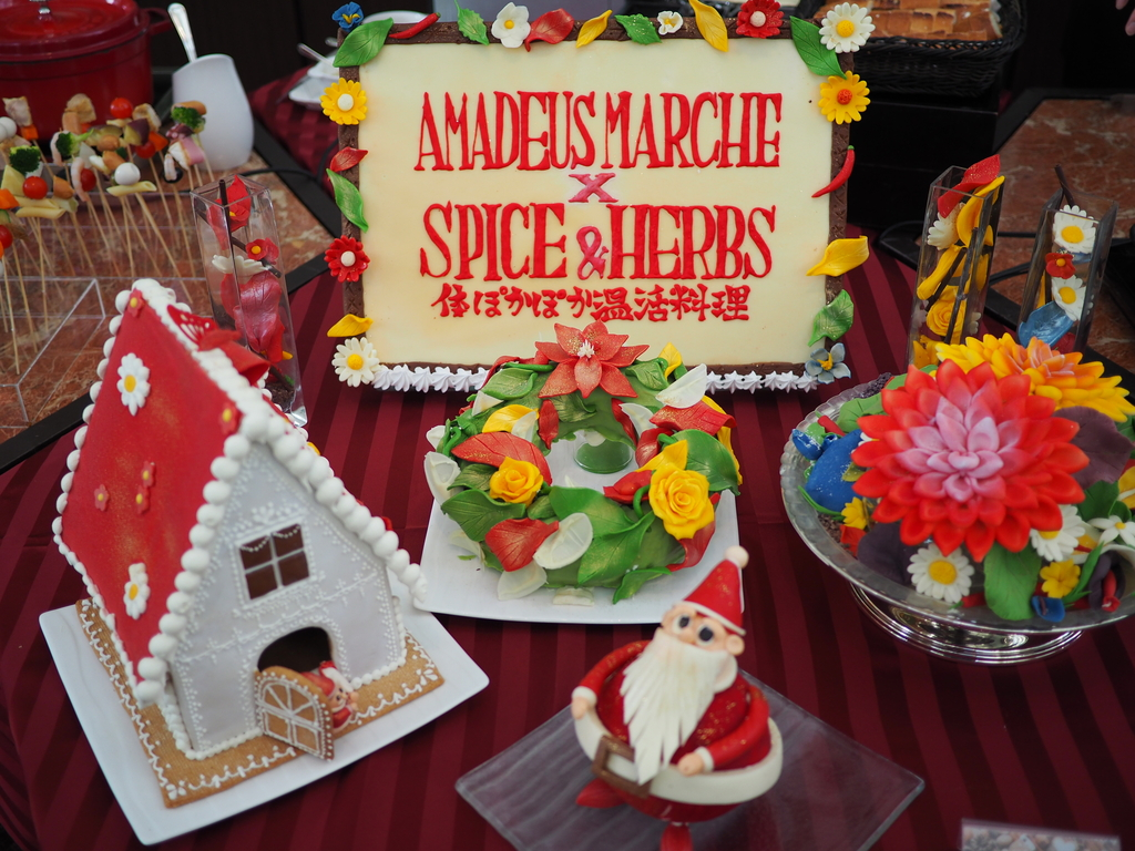 "『SPICE&HERBS!ホテルでホッカホカ""温活""』がテーマの冬のビュッフェ付ランチは満足感とお得感が高すぎます! ウェスティンホテル大阪 「アマデウス」"
