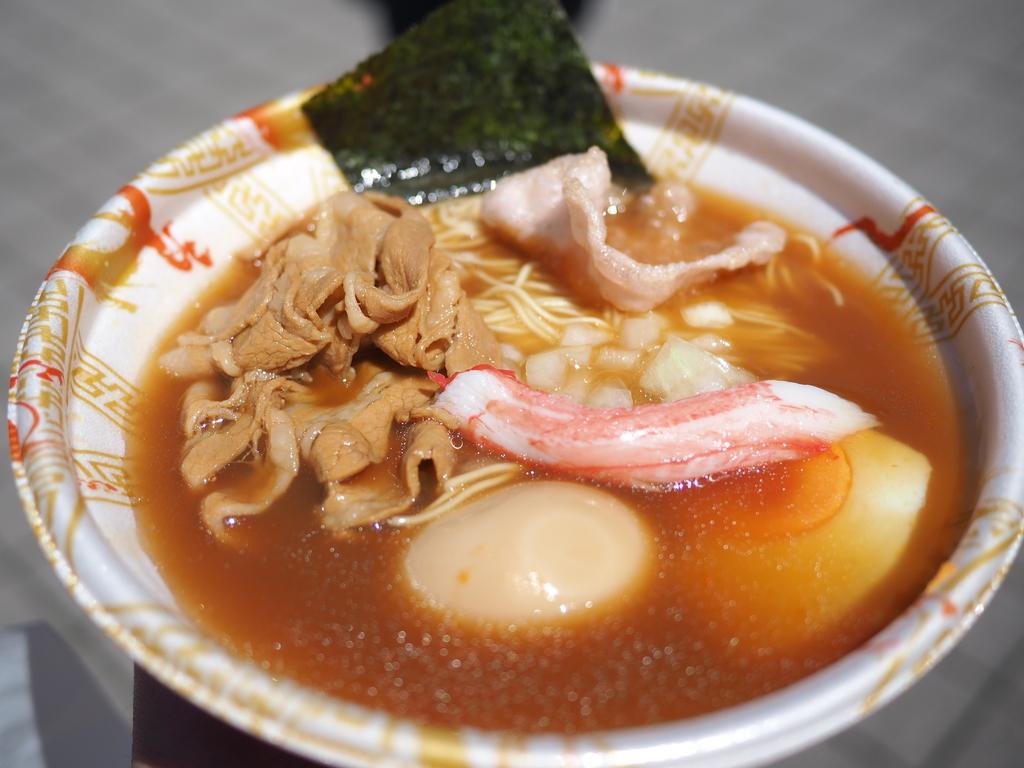 甲子園ラーメン祭で絶品カニ味噌ラーメンとふがいない試合観戦@阪神甲子園球場