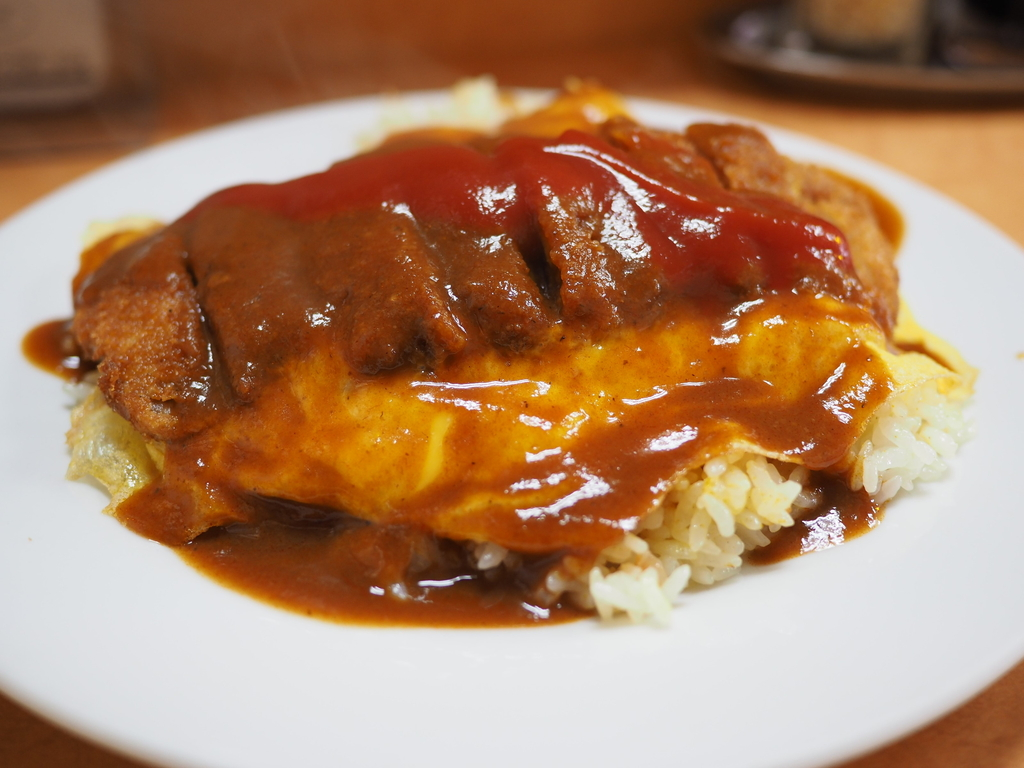 """地元で長く愛される洋食屋さんの名物 """"ユキライス""""は癒しの味わいです!  守口市 「洋食 ユキ」"""