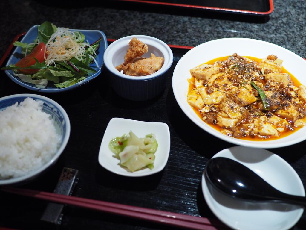 高級感あふれる味わいの麻婆豆腐がランチで食べられるようになりました! 北新地 「北新地 響香」