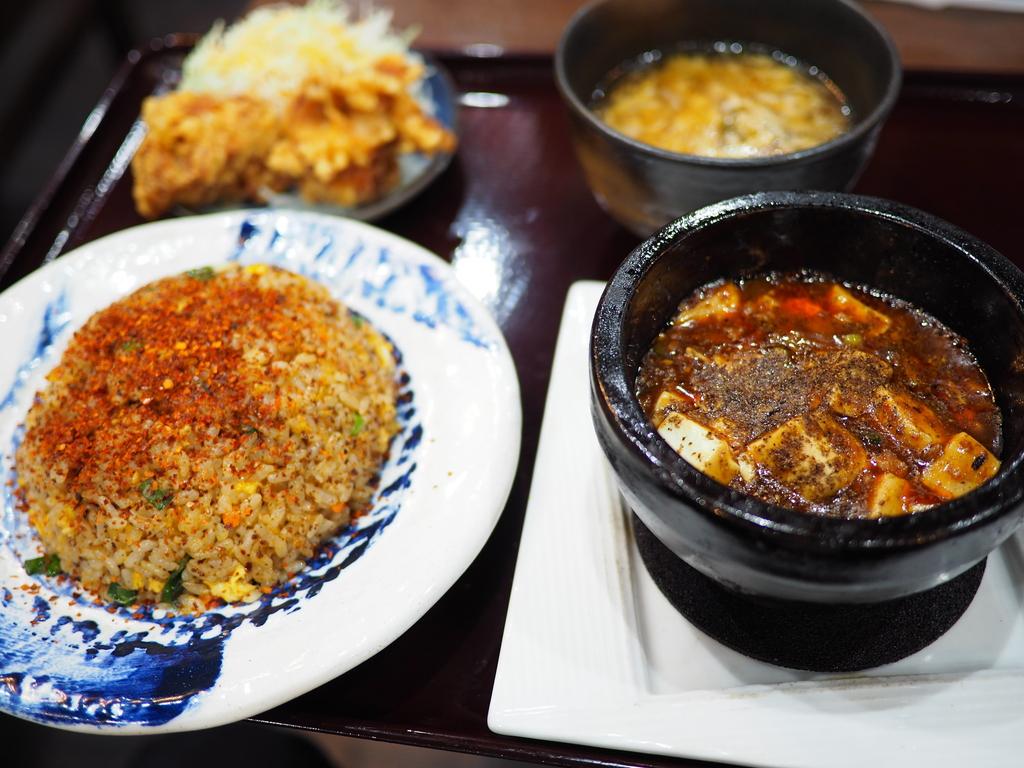 定期的に食べたくなる魔性の美味しさの本格四川麻婆豆腐! 谷町四丁目 「四川麻婆 天天酒家 谷町店」