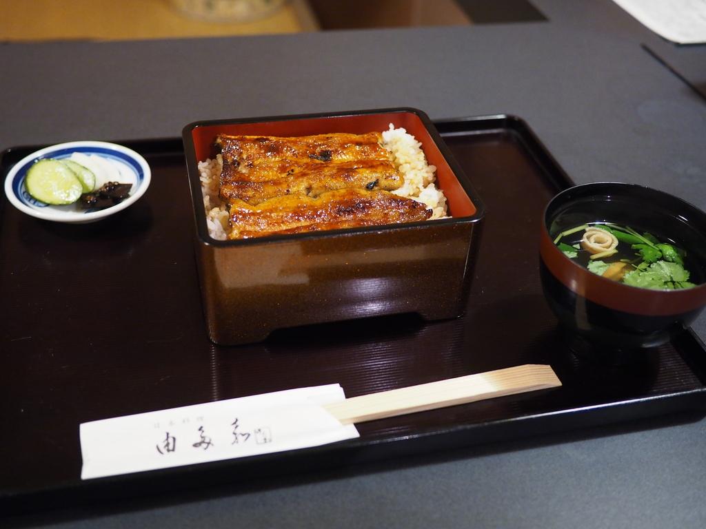 土用の丑の日は感動的に旨い江戸前うなぎ! 西天満 「日本料理 由多嘉」