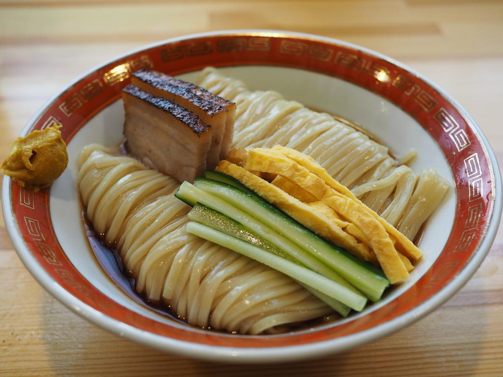 昔懐かしさと斬新さを兼ねそろえた冷やし中華は麺の旨みが存分に楽しめます! 東大阪市 「麺や 清流」