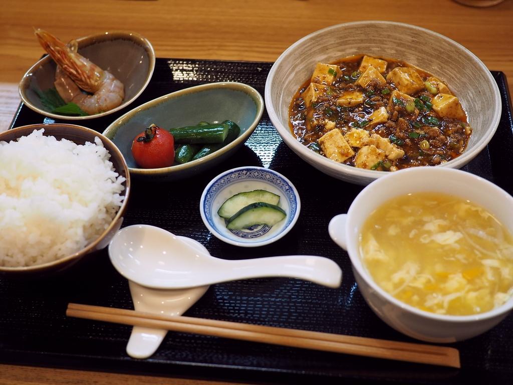 数々の名店で腕を磨かれた凄腕料理人の麻婆豆腐は高級感溢れる味わいです! 豊中市 「中国郷菜 壺厨天 (コチュウテン)」