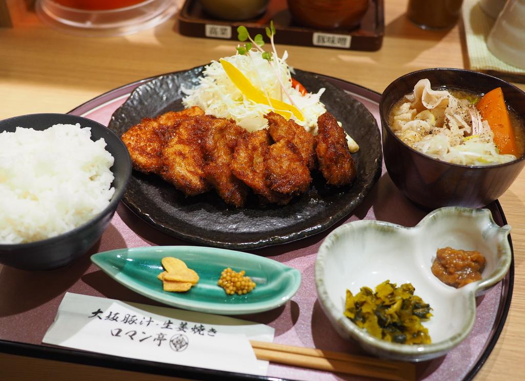 豚汁と豚生姜焼きのお店に失敗から生まれた新名物が登場! 梅田 「大坂豚汁・生姜焼き ロマン亭」