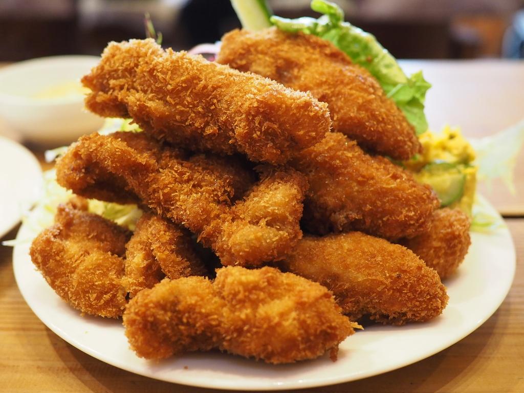 念願のカキフライマウンテンを食べてきました! 福井県 「レストラン おこじょ」
