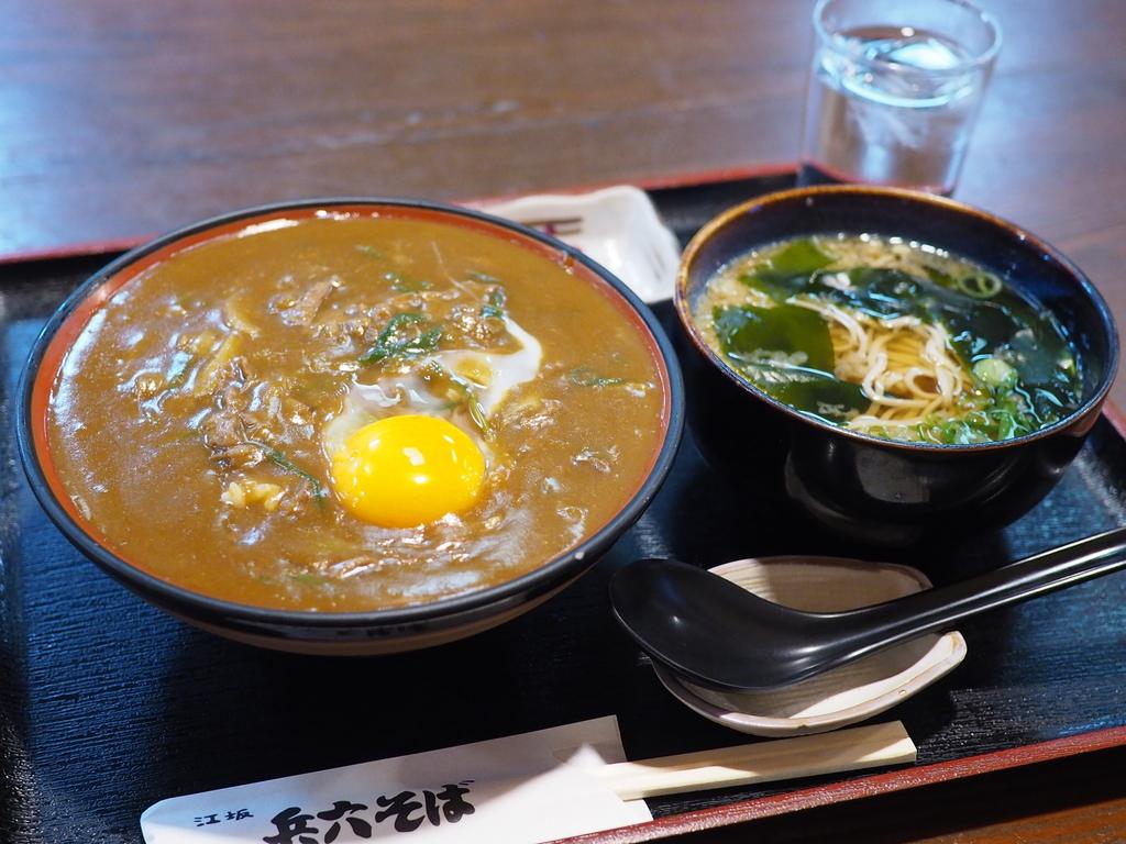 思わず唸ってしまうほど美味しいお出汁がよ~く効いたお蕎麦屋さんのカレー丼! 江坂 「江坂蕎麦処 兵六そば」
