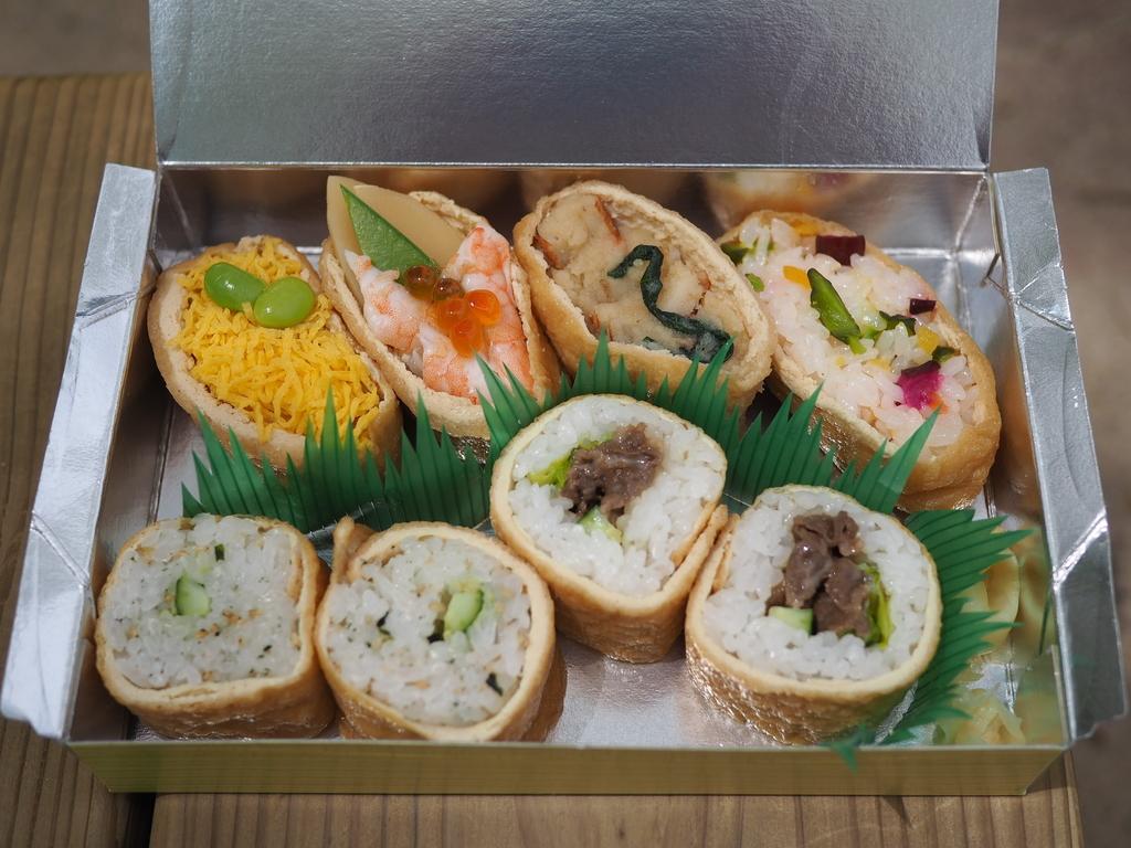 いなり寿司専門店のこだわりの油揚げとお米とお水を使った様々な絶品いなり寿司が楽しめます! 豊中市 「いなり寿司 ななや」