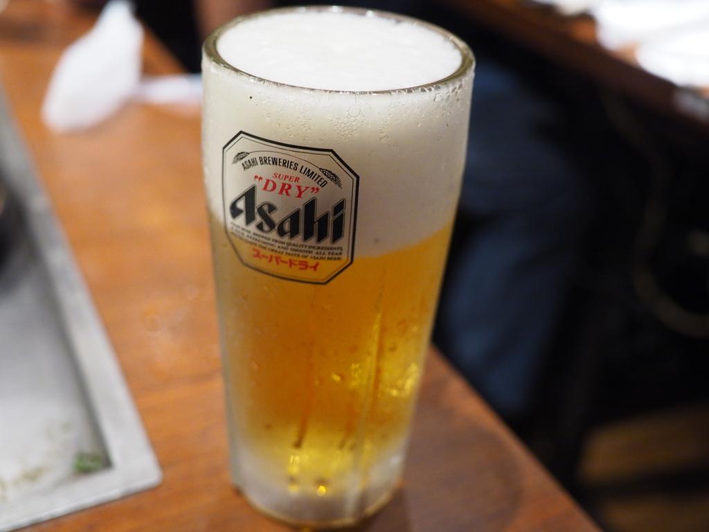 店内で食べる料理、飲むビールはやっぱり最高です! 新大阪 「めっせ熊 新大阪店」