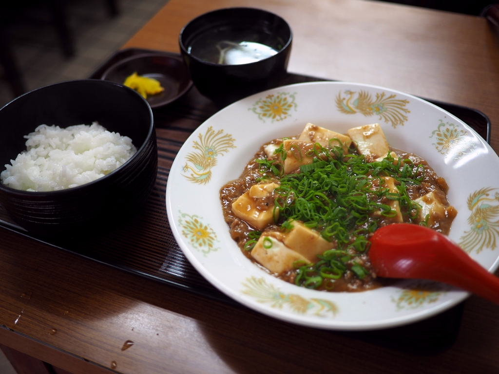 謎の町中華の一度食べたら間違いなくハマる独特の味わいの麻婆豆腐! 中央区大手町 「すいたや」