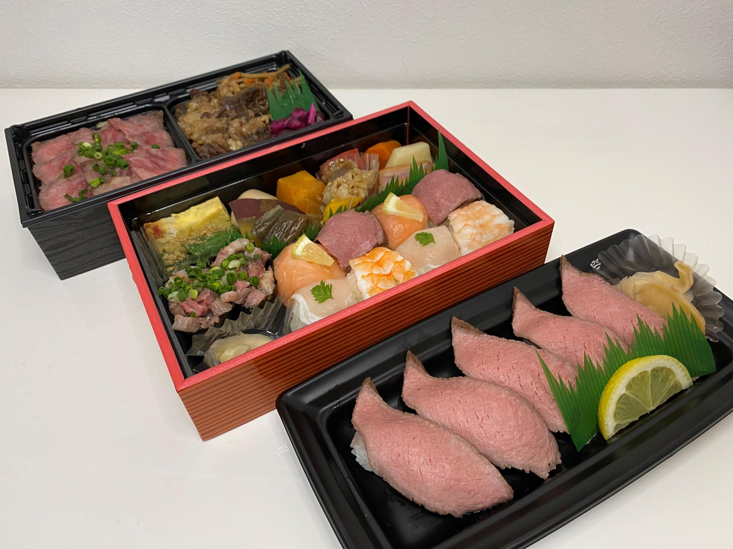 松阪牛にこだわった美味しいお弁当がお手軽な価格で販売されています! 梅田 「Matsusaka BEEF WHAT'S(マツサカビーフワッツ) 阪急うめだ店」