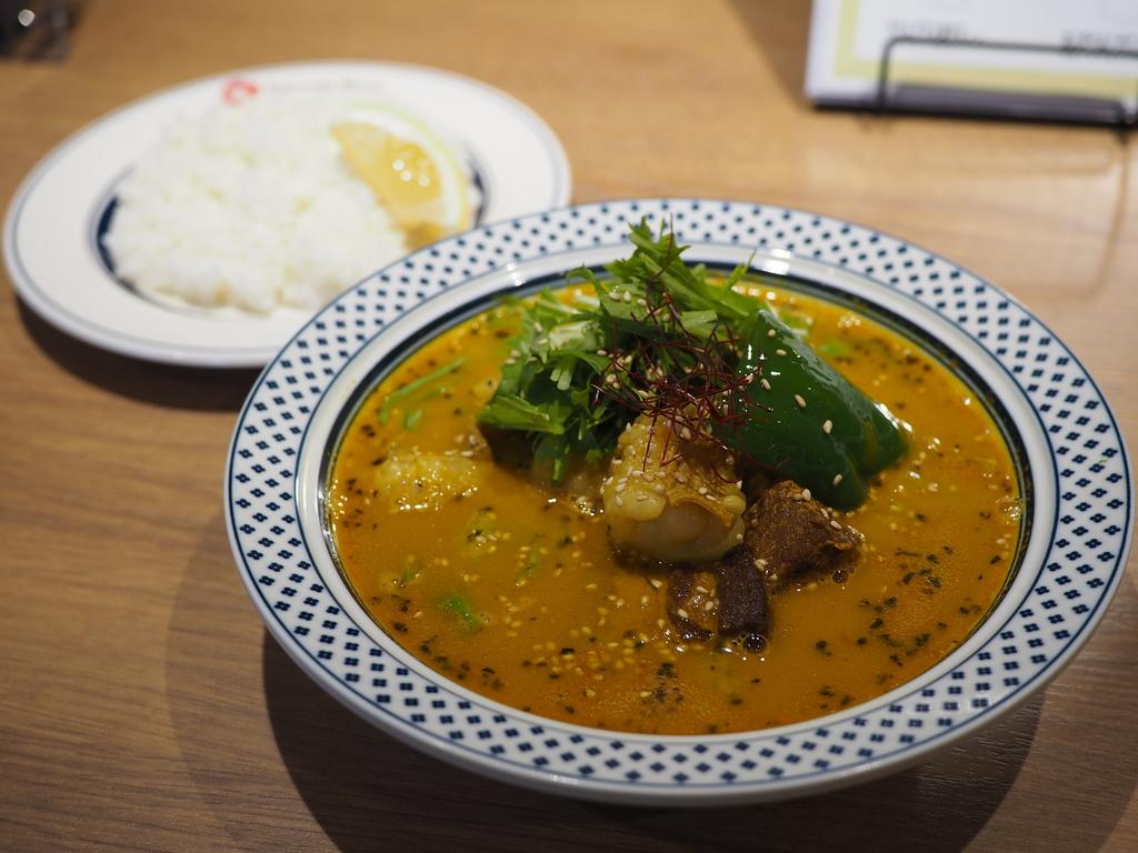 あまりにもレベルの高すぎる伝説のスープカレーのお店が移転リニューアルオープンでとても食べやすくなりました! 本町 「フジヤマコウタ」