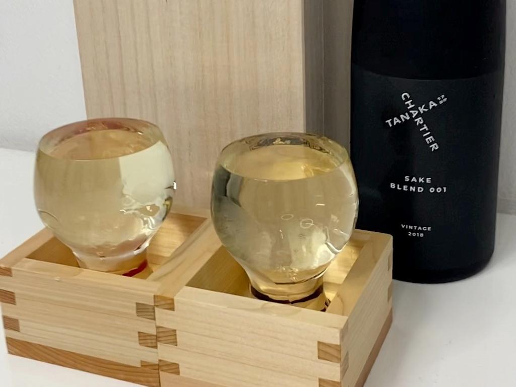 こだわり抜いて作られた日本酒業界の概念を覆す超絶に旨い日本酒に出会いました!! 田中酒造 「TANAKA 1789 X CHARTIER BLEND 001」